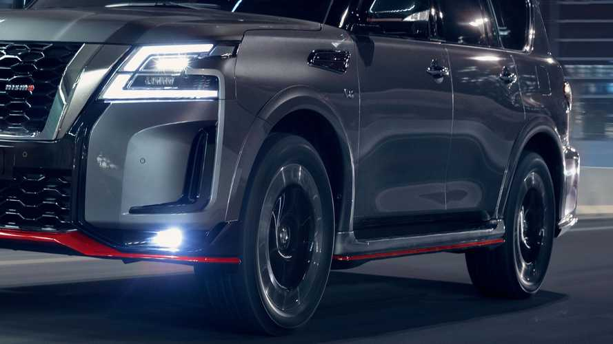 2022 Nissan Patrol Nismo facelift
