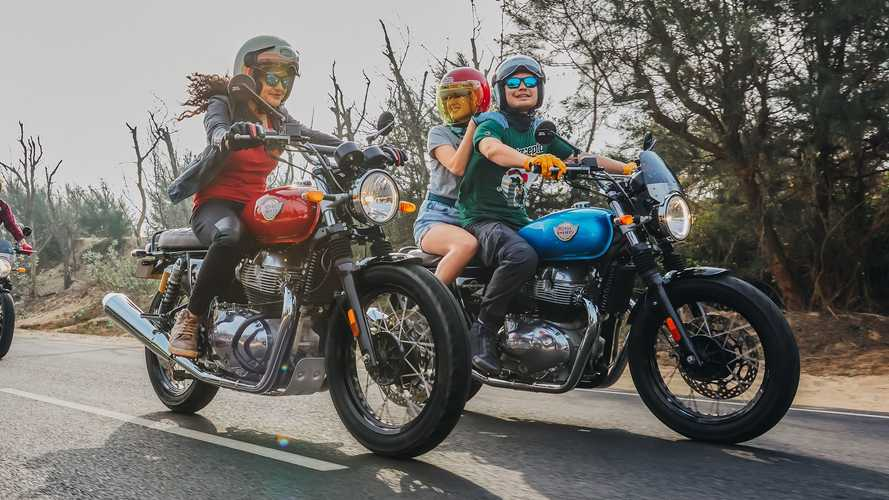 Royal Enfield And Honda Offer Demo Rides At Vintage Motorcycle Days