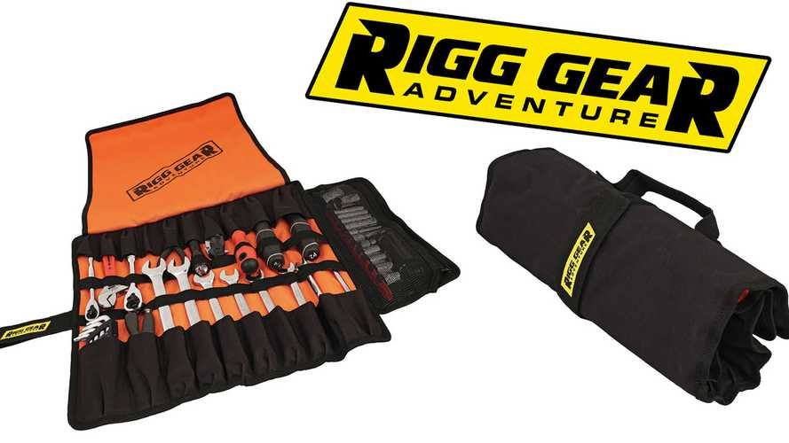 Rigg Gear Releases New Large Tool Roll And Exhaust Heat Shield