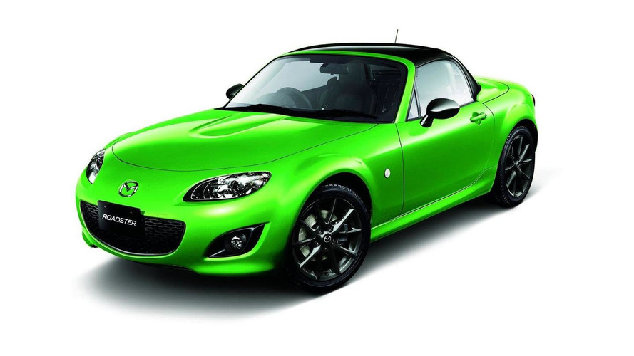 Mazda launches Special Edition Black Tuned Roadster for Japan
