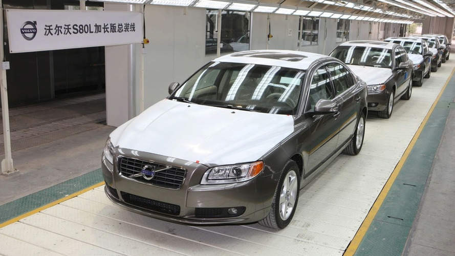 Volvo Launches New S80L in China