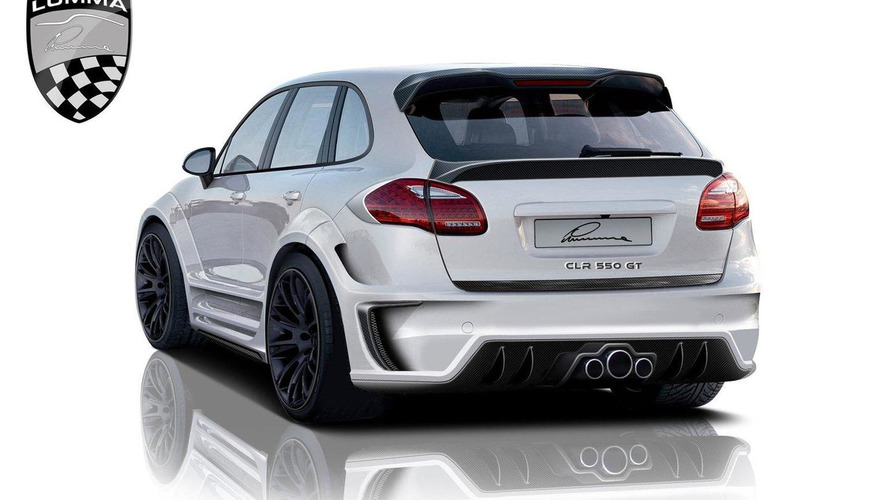 Lumma CLR 550 GT styling design for new 2011 Porsche Cayenne revealed