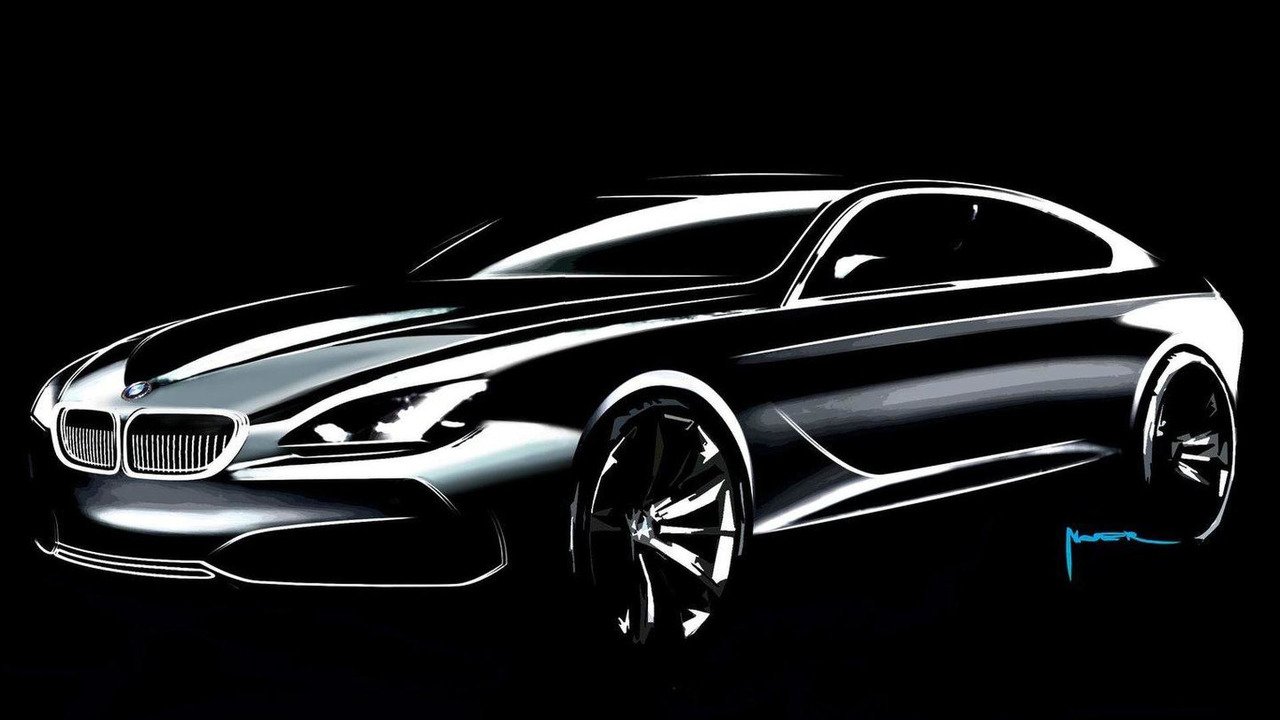 Bmw Concept Gran Coupe Design Sketch 07 05 2010 Motor1 Com Photos