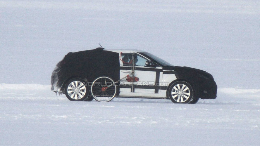2012 Hyundai Veloster 5-door Spied Testing on Frozen Lake