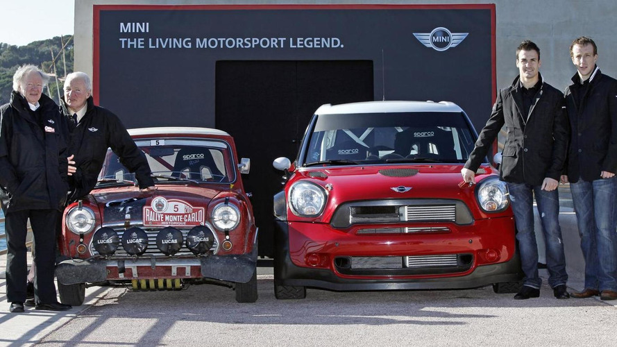 MINI Countryman WRC at Monte Carlo Historic Rally