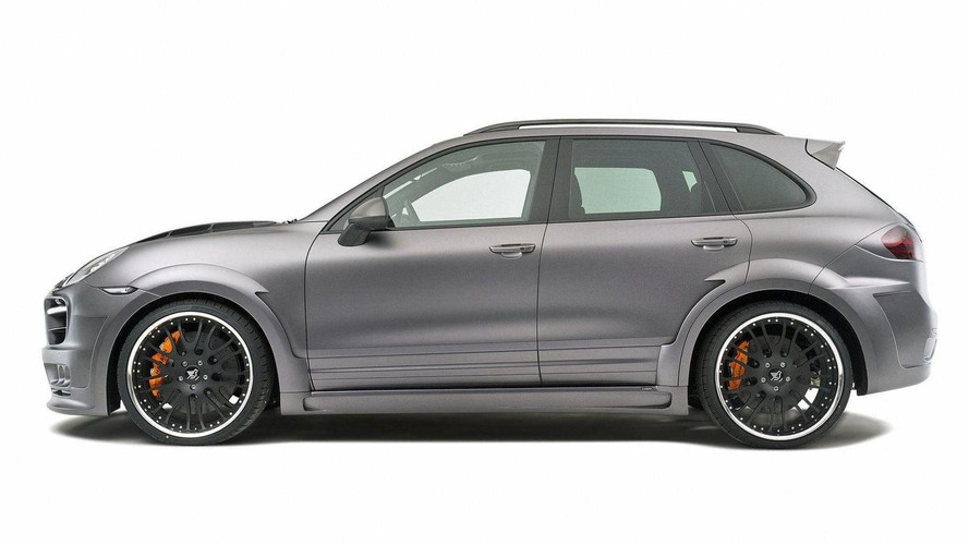 Hamann Guardian based on Porsche Cayenne debut in Geneva