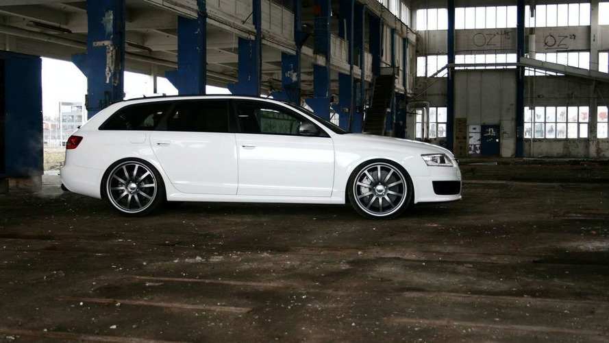 AVUS Performance Shows Audi RS6 WHITE POWER - They must be joking