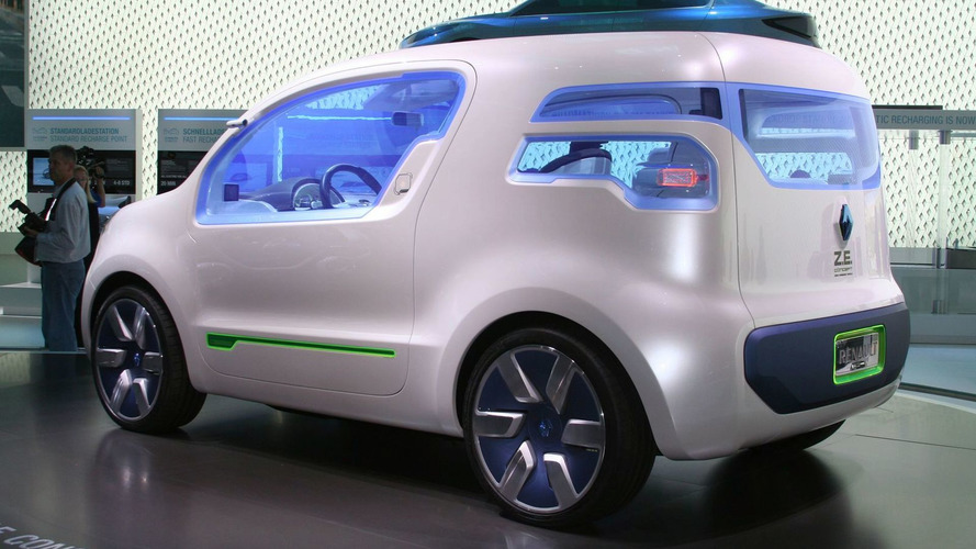 Renault Kangoo Ze Concept Ev Announced For Production In 2011