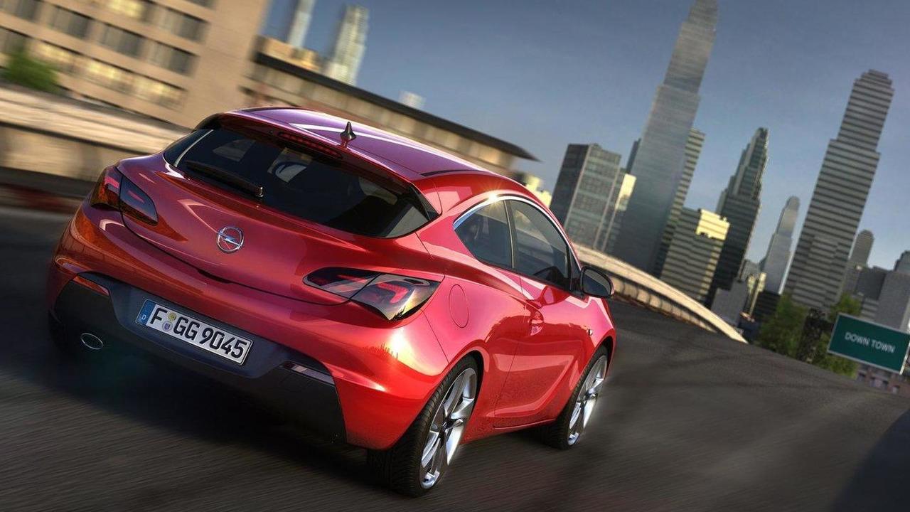 Opel / Vauxhall Astra GTC first photos 26.04.2011