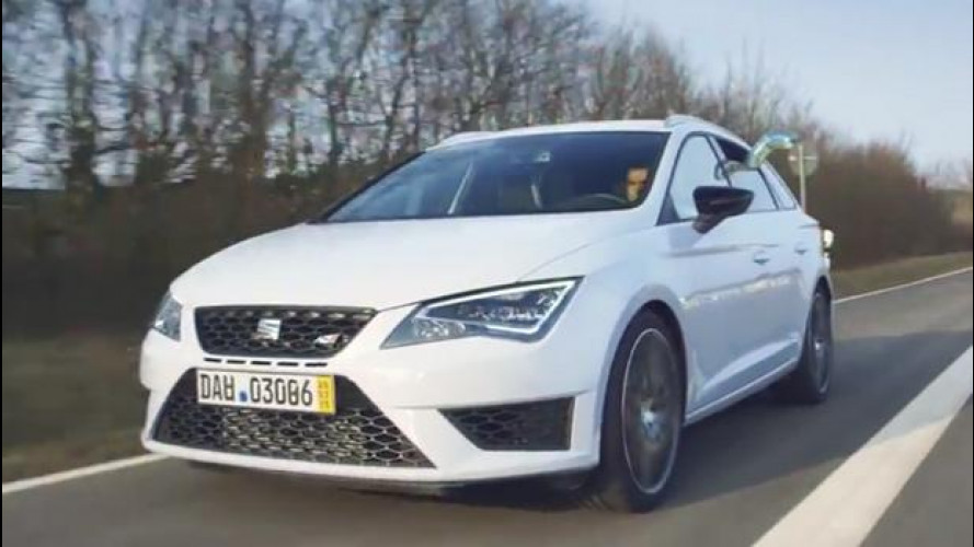Seat Leon ST Cupra, record al Nurburgring [VIDEO]