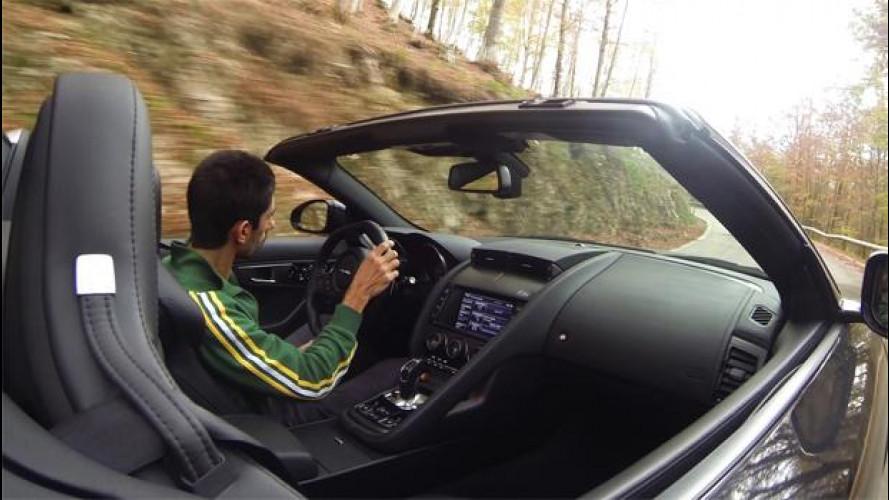 """Jaguar F-Type, ecco che cos'è il """"piacere di guida"""" [VIDEO]"""