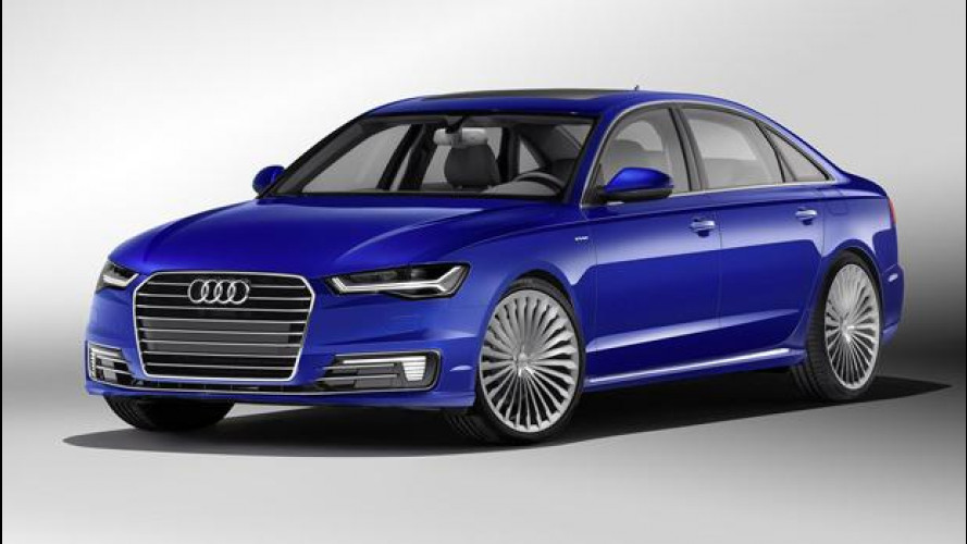 Audi A6 in Cina è L e anche e-tron