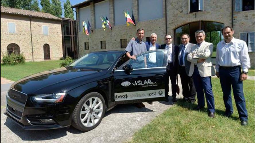 La guida autonoma italiana diventa americana