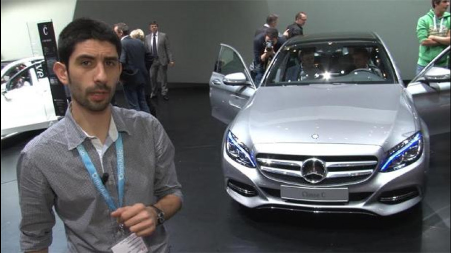 La nuova Mercedes Classe C è la berlina più sexy di Ginevra