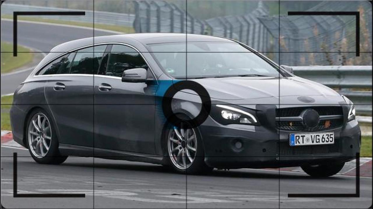 [Copertina] - Mercedes CLA Shooting Brake, foto spia del restyling