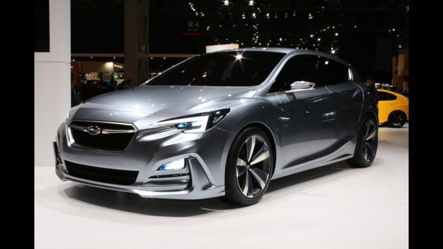 Subaru Impreza Sedan Concept, prima anticipazione della tre volumi