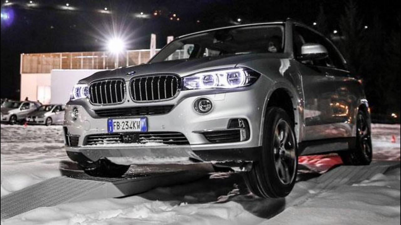 """[Copertina] - BMW X5 xDrive40e, il primo SUV """"alla spina"""" di Monaco"""