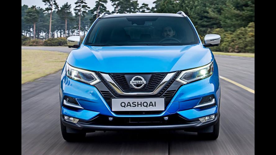 Nissan Qashqai restyling, la sfida alle concorrenti inizia così