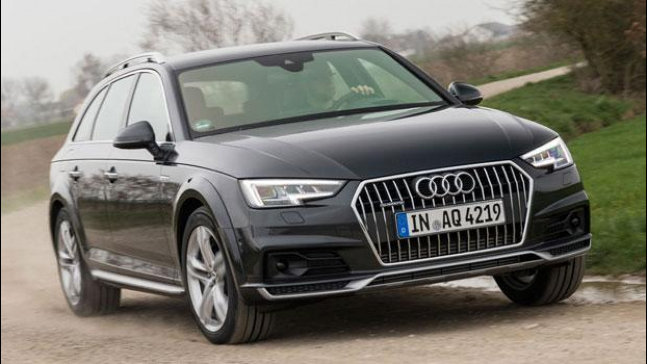 [Copertina] - Audi A4 allroad quattro, senza permanente è più intelligente