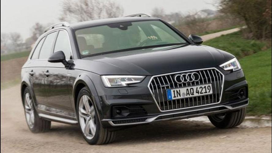 Audi A4 allroad quattro, senza permanente è più intelligente