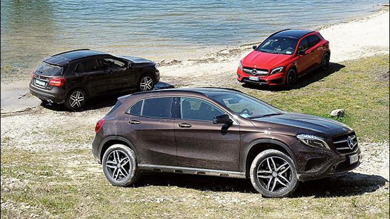 [Copertina] - Mercedes GLA Enduro, rialzata per l'Italia