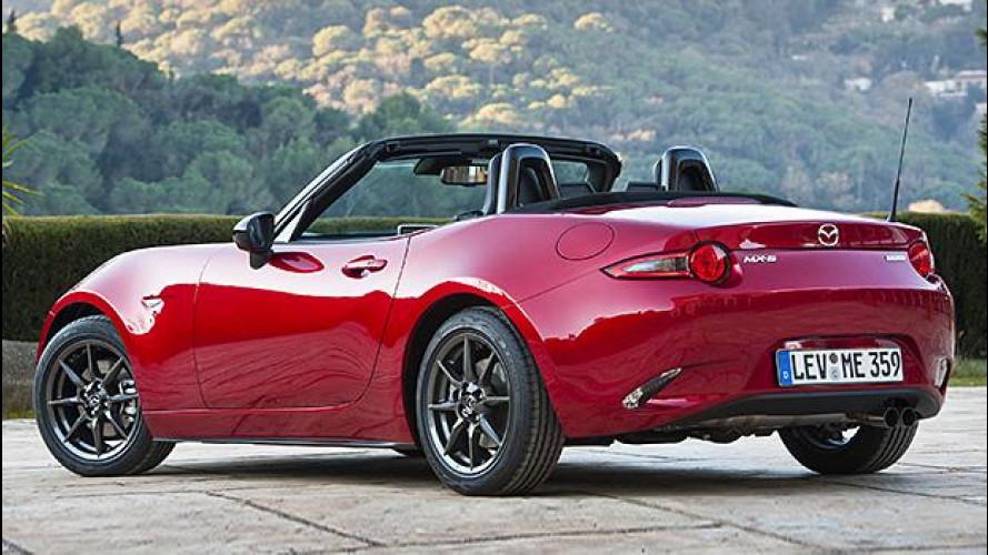 Mazda MX-5, il mito ritorna a 25.300 euro
