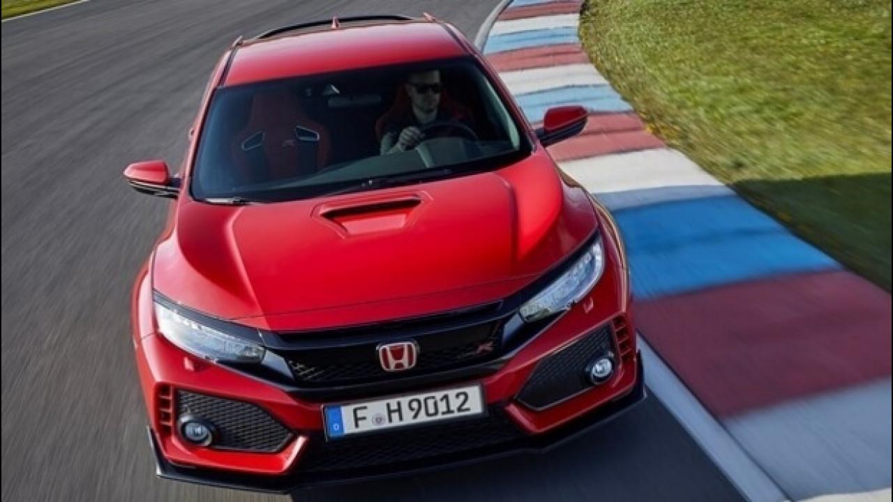 [Copertina] - Honda Civic Type R, la trazione anteriore più veloce del mondo