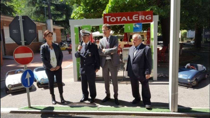 Sicurezza stradale, TotalErg scende in campo a Roma