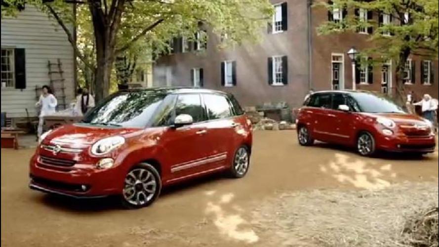 """Fiat 500L """"invade"""" l'America"""