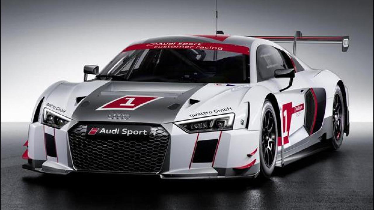 [Copertina] - Audi R8 LMS, la nuova arma per le classi GT