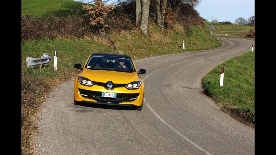 Nuova Renault Megane R.S., in pista al GP di Monaco