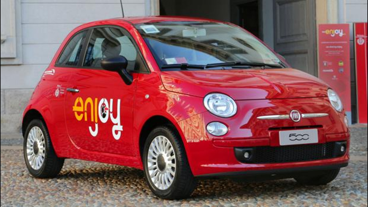 [Copertina] - Enjoy, il car sharing di Eni e Fiat