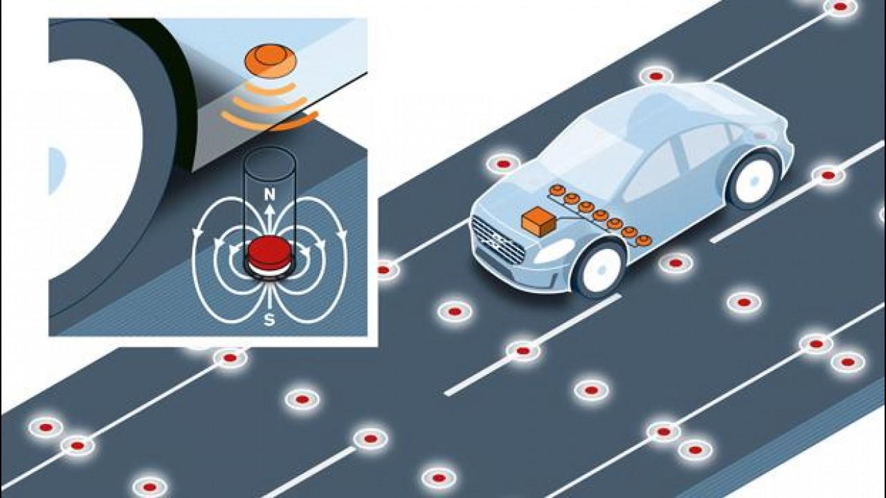 [Copertina] - Volvo sperimenta le strade magnetiche