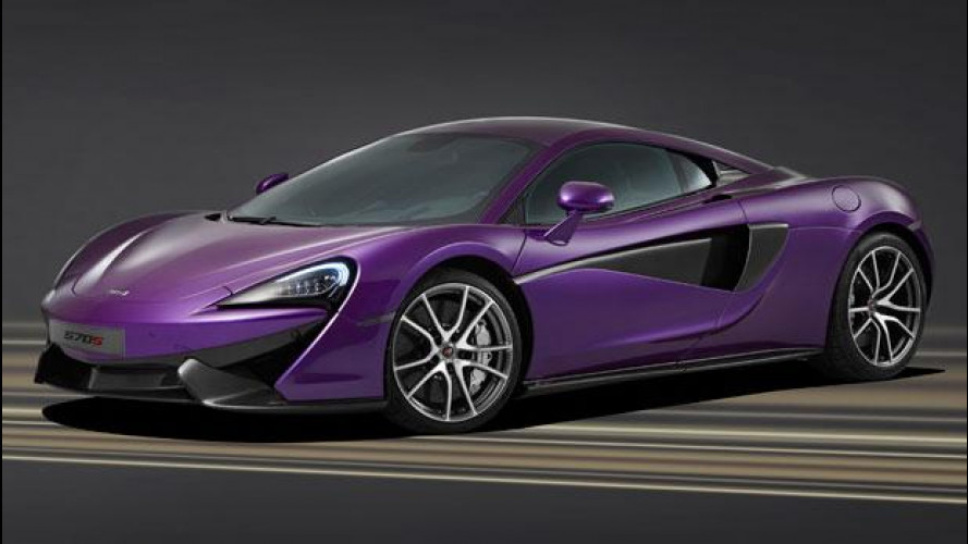 "McLaren MSO, nuove ""chicche"" a Pebble Beach"