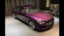 BMW 760Li Twilight Purlpe by BMW Abu Dhabi Motors
