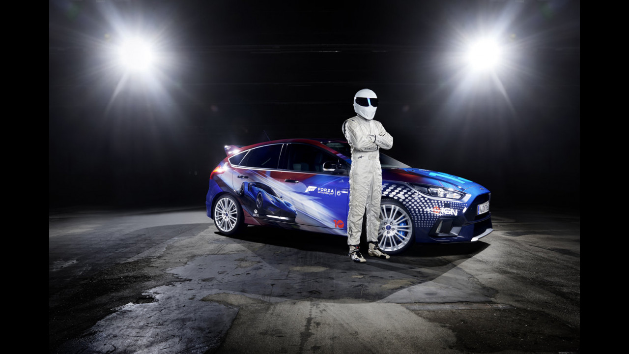 Ford Focus RS, versione Forza Motorsport con Stig