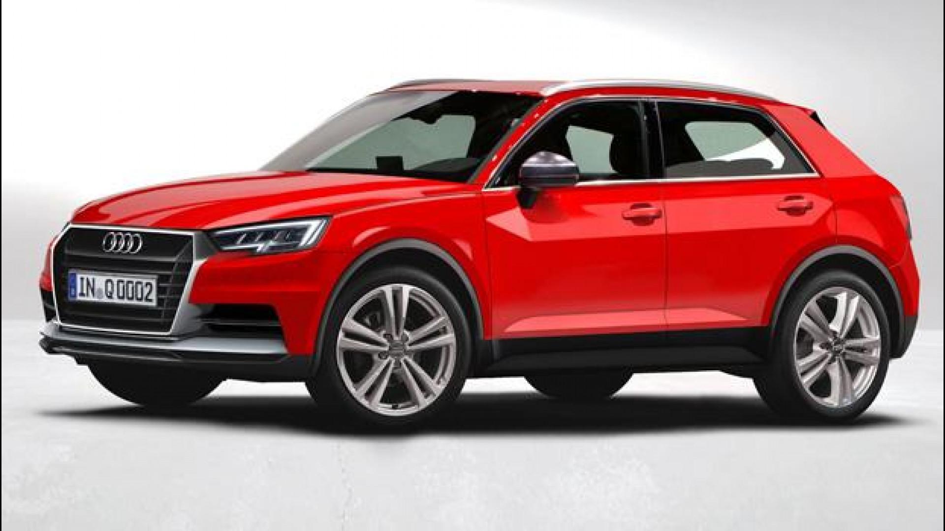 Audi Q Come Sarà La Piccola SUV Motorcom Italia - Audi q1