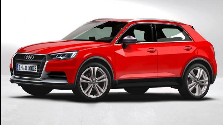 Audi Q1, come sarà la piccola SUV