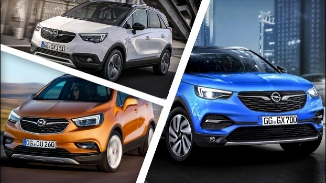 [Copertina] - Opel X, l'invasione dei crossover