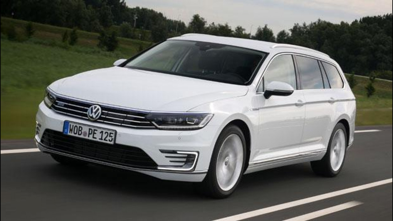 [Copertina] - Volkswagen Passat Variant GTE, fra ecologia e sportività