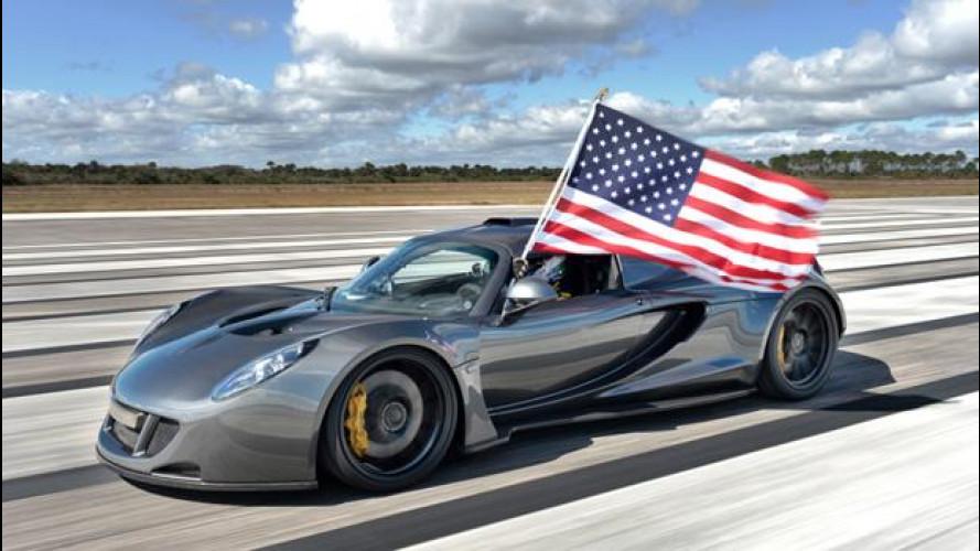 La Venom GT è la più veloce al mondo