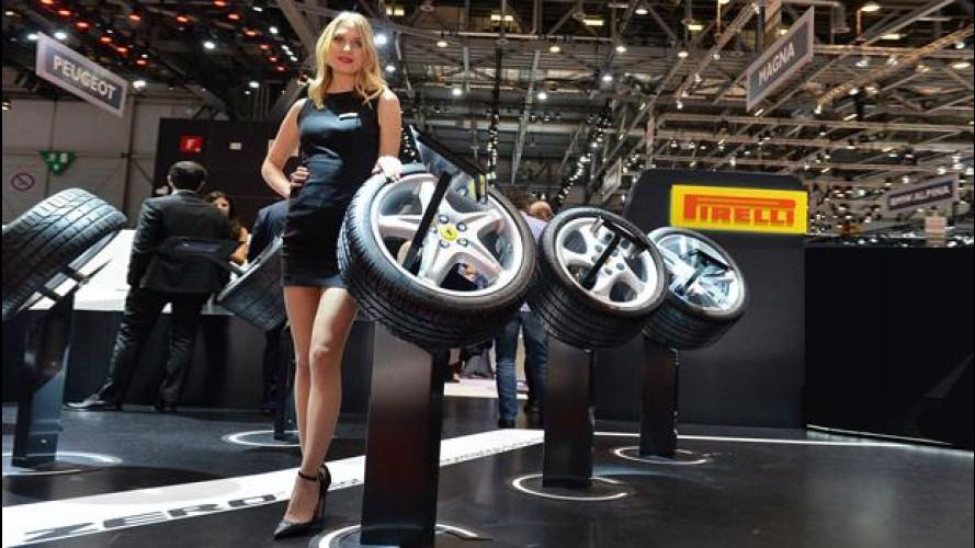 """Salone di Ginevra 2016: Pirelli, ai piedi delle """"potenti"""""""
