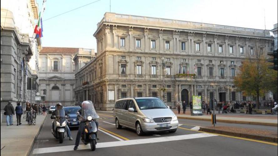 A Milano si pensa di estendere l'Area C