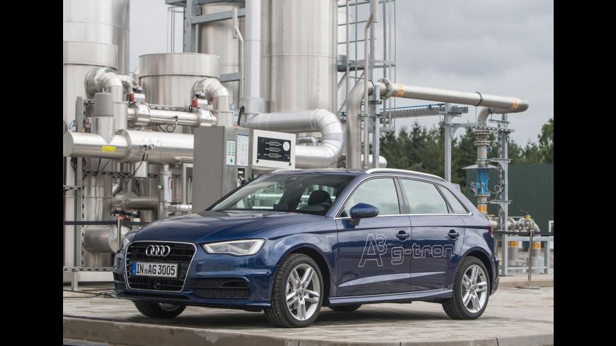 e-gas, il metano secondo Audi