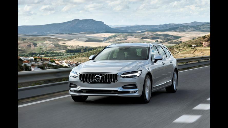 Volvo V90, il lusso è familiare [VIDEO]