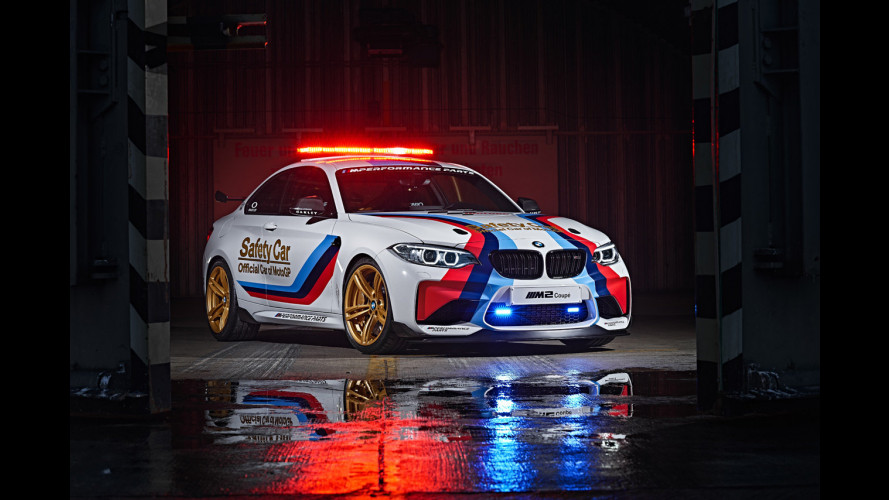 BMW M2 Safety Car pronta per la MotoGP 2016