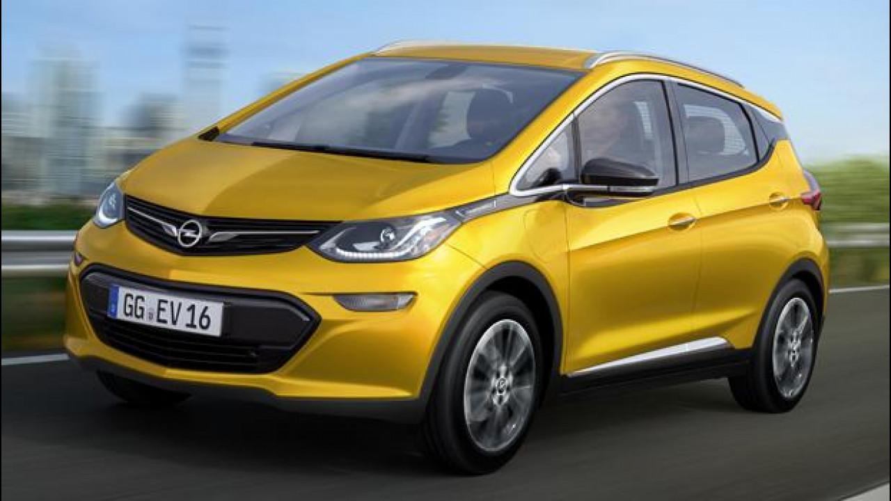 [Copertina] - Opel Ampera-e, l'auto elettrica che va lontano
