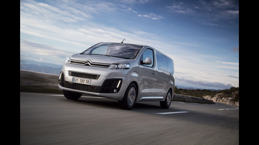 Citroen SpaceTourer, spazio on demand [VIDEO]