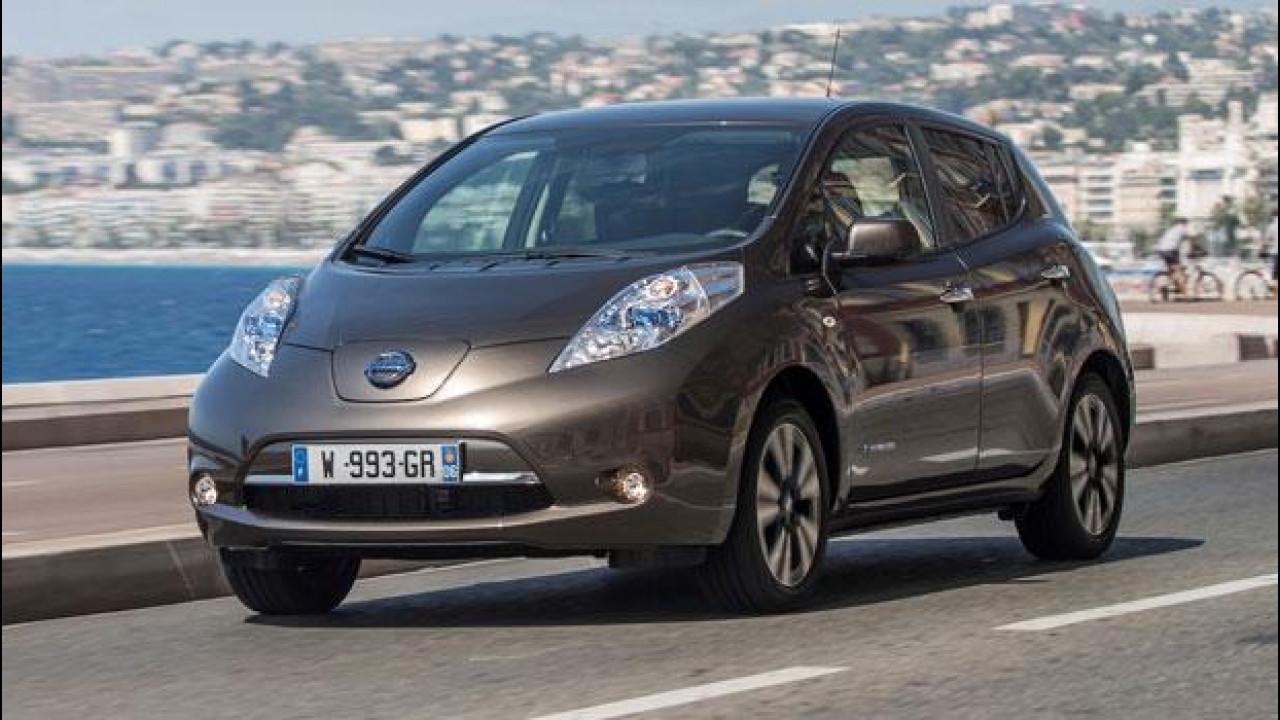[Copertina] - Nissan Leaf MY 2016, restyling di autonomia
