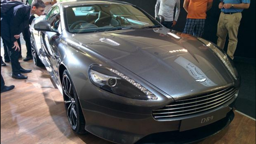 Aston Martin DB9 GT, James Bond arriva a Goodwood
